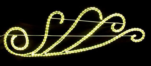 2Dストリートモチーフ ウイング L2DM301【コロナ産業 イルミネーション モチーフ LED 照明 ライト】