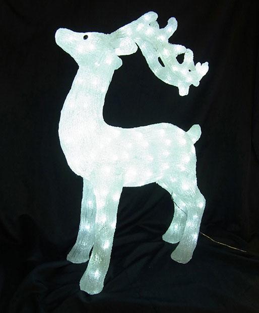 3Dアニマル スタンドトナカイ75 L3D364【コロナ産業 イルミネーション モチーフ LED 照明 ライト】