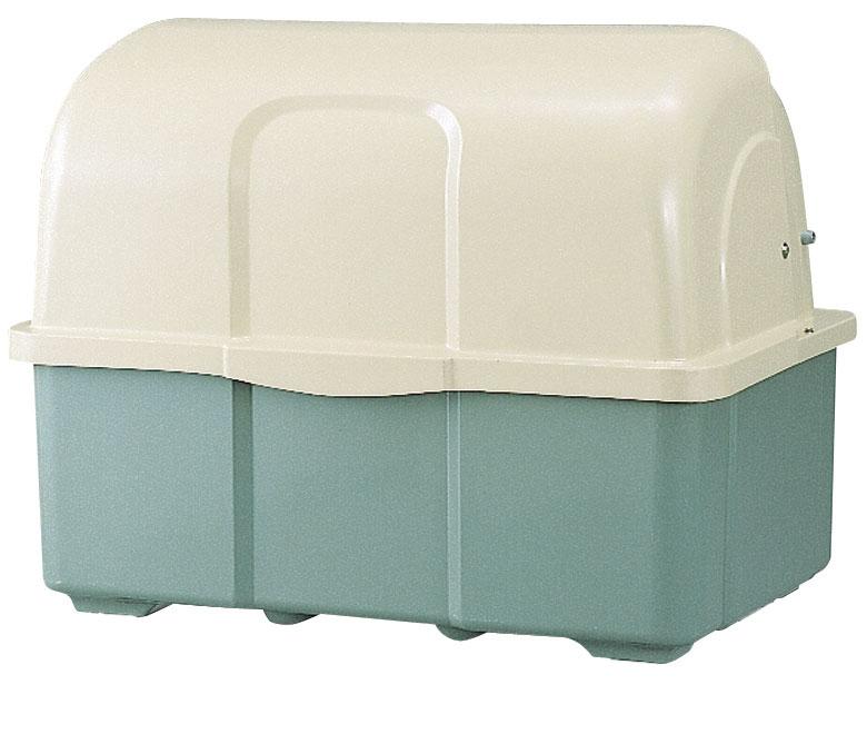 カイスイマレン ジャンボペールHG1000TK(固定足)【容量1000L 45Lゴミ袋22個相当 約15世帯 大型ゴミ箱 ゴミステーション FRP製 固定足 ツートンカラー】