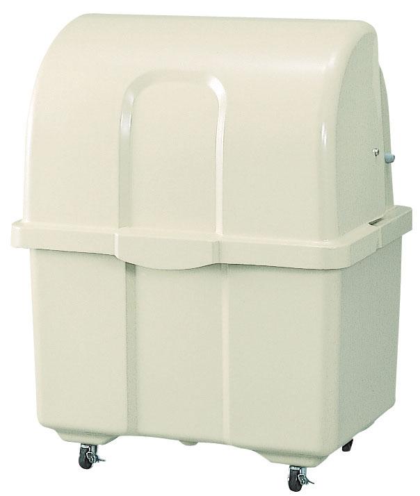 5/2-5/6は休業期間/出荷等は5/7以降 カイスイマレン ジャンボペールHG400C(キャスター付き)【容量400L 45Lゴミ袋9個相当 約6世帯 大型ゴミ箱 ゴミステーション FRP製 キャスター付き アイボリー】