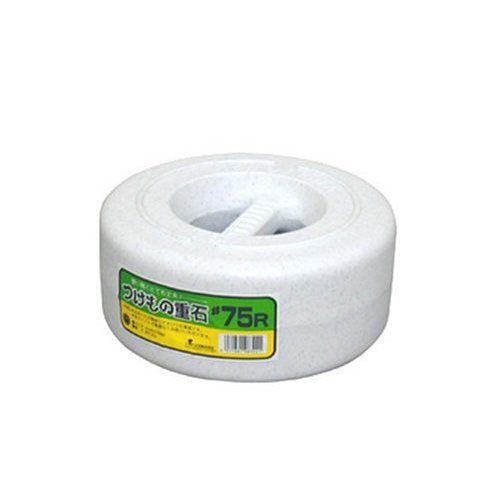 白菜や大根の漬物づくりにつけもの樽 漬物重石#75R SN 7.5kg 安心の実績 高価 買取 割引も実施中 強化中 漬物石