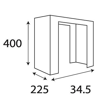 宅配ボックス 置換えベースAllux8002(F54904)【宅配ボックス ベース オプション 屋外 戸建 荷物受取】
