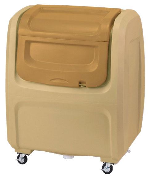 セキスイ ダストボックスDX#500(キャスター付き) ベージュ DX5BE【容量500L 45Lゴミ袋12個相当 約8世帯 大型ゴミ箱 ゴミステーション プラスチック製 キャスター付き ベージュ】