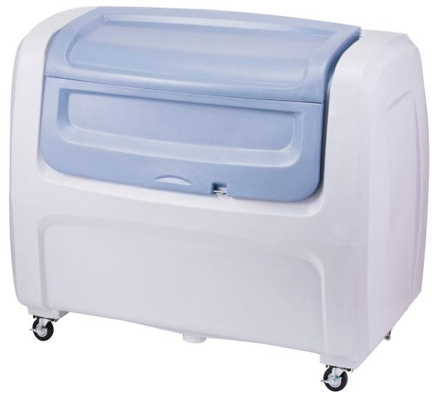 セキスイ ダストボックスDX#800(キャスター付き) グレー DX8H【容量800L 45Lゴミ袋20個相当 約13世帯 大型ゴミ箱 ゴミステーション プラスチック製 キャスター付き グレー】