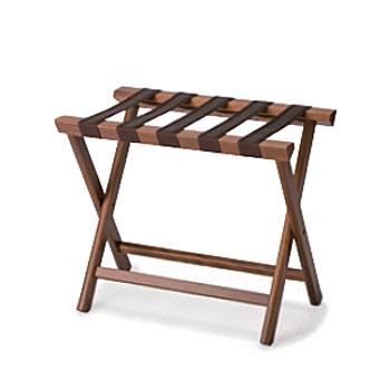 バゲージラック BLW-11 ダークブラウン【バゲージラック 荷台 折りたたみ式 木製】