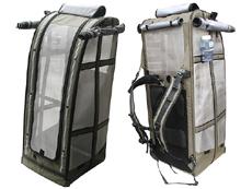 オーダーメイド(5-12週間前後)Celltei Pak-o-Birdバードキャリーリュック・XLサイズ ステンレス製メッシュ