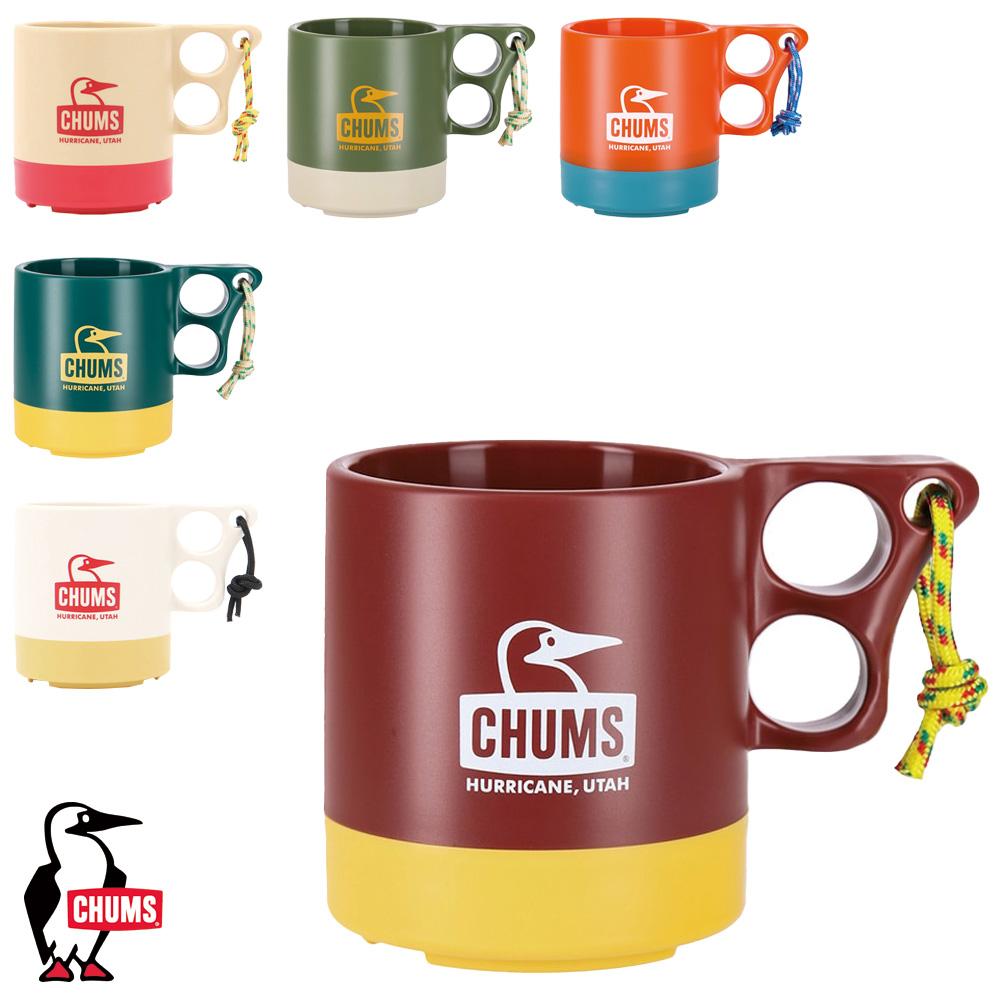 キャンパーマグ CHUMS チャムス コップ 年末年始大決算 正規認証品!新規格 マグカップ アウトドア キャンプ バーベキュー 樹脂製 フェス 食器 CH62-1244 キッチン用品 キャンプ用品