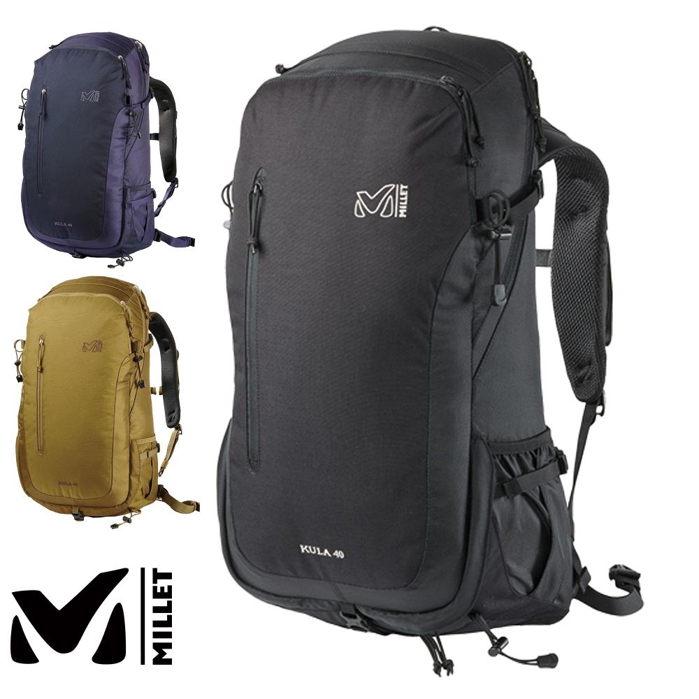 ミレー MILLET クーラ40 MIS0629 バックパック 40リットル リュック バッグ 旅行 アウトドア KULA 40/国内正規品/通勤/通学