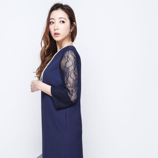 6338c99bf1f46 ... 葛岡碧さん着用 パーティードレス結婚式ワンピースドレス大きいサイズパーティー激安 ...