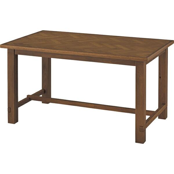 送料無料 クーパス ダイニングテーブル オーク 天然木 ラバーウッド シンプル  お店 店舗 おしゃれ お洒落 人気 幅135 巾135 カフェ 食卓 新生活 模様替え 人気 高級感 質感 リビング 素敵 木製 コンパクト 長方形 VET-637 AZVET-637