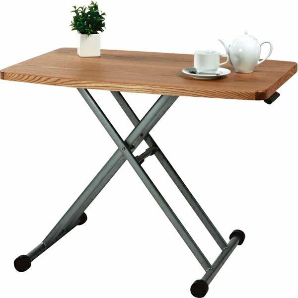 リフトテーブル テーブル 机 簡易テーブル 天然木 室内 アウトドア 公園 花見 海 川 運動会 花火大会 木製 おしゃれ 高さ調節 折りたたみ 持ち運び 簡単 MIP-36NA MMAZMIP-36NA