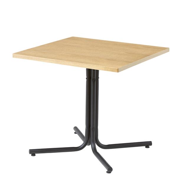 ダイニングテーブル ダリオ 天然木 オーク アイアン シンプル  お店 店舗 おしゃれ お洒落 人気 幅75 巾75 カフェ 食卓 新生活 模様替え 人気 高級感 質感 リビング 素敵 木製 コンパクト 正方形  AZEND-223TNA W75×D75×H67