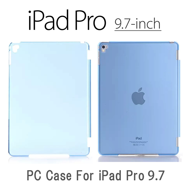 iPad Pro 9.7裏面用ケースを特価でご提供 薄型 軽型ケース 厚さは約1.1mm 送料無料 メール便発送 9.7インチ 裏面用ケース OUTLET SALE crystal Smart ケース 全8色 用 スマートカバー Cover対応 Pro9.7 Partner 期間限定今なら送料無料 Cover Apple