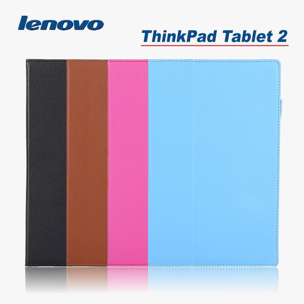高級感あふれるレザー調のThinkpad Tablet 2専用ケース 充電や各操作はケースに入れたまま操作可能です 在庫処分 送料無料 AL完売しました。 Lenovo お見舞い Thinkpad レザーケース ケース スマートケース アクセサリー 2 カバー NEPPT スリーブ機能付け