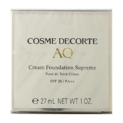 コーセー コスメデコルテ COSME DECORTE  AQ クリーム ファンデーション シュープリーム30g  201