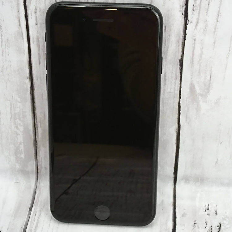 【中古】【美品】アップル SIMフリー  白ロム フィルム付き iPhone7 32GB ブラック 箱なし 1019-01