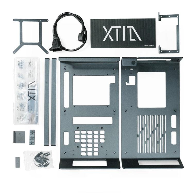 XTIA Xproto N 公式サイト PC PCケース 国産品 アルミシャーシラック case