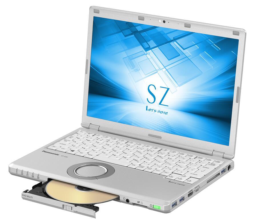 届いてすぐに使える 安心の90日保証付き 中古 ノートパソコン Panasonic CF-SZ6 Intel core i5-`第7世代 Microsoft SSD office メモリ8GB Win10 パナソニック Pro 驚きの値段で 64bit 120GB 完全送料無料