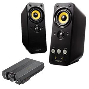 【クリエイティブストア限定】Sound Blaster E5 高音質スピーカーセット (GigaWorks T20 Series II)