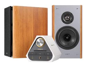 Sound Blaster X7 Limited Edition+E-MU XM7 브라운
