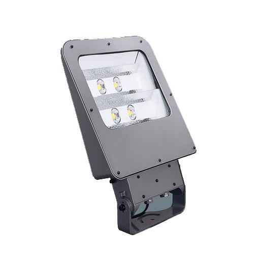 据置取付型 LED(昼白色) 投光器 フロント配光 防雨型・重耐塩害仕様 パネル付型 水銀灯250形1灯器具相当 500形