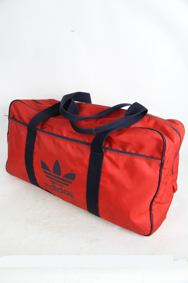 アディダス adidas 大型ボストンバッグ 1980年代 鞄 バック 本革 オールド OLD ヴィンテージ ビンテージ おしゃれ【古着】【中古】【メンズ】【レディース】【レトロ古着】【vintage】80's 80s