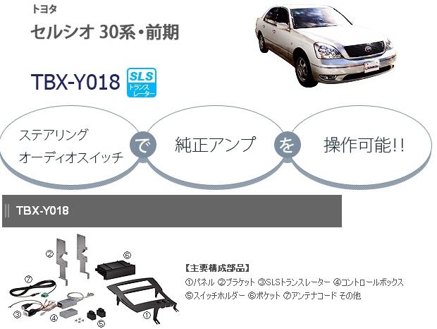 カナテクス TBX-Y018 トヨタ セルシオ 30系 2DINオーディオ/ナビ取り付けキット 【H12/8~H15/8】