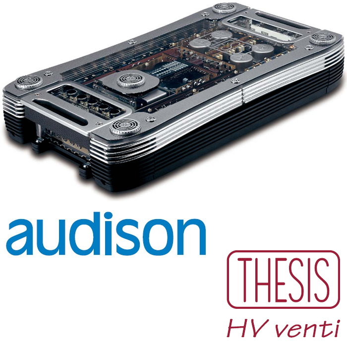 audison thesis hv Care about is emotion from the single screw to the class a circuit,  everything is aimed at obtaining an unforgettable sound thesis hv venti thesis  hv venti.
