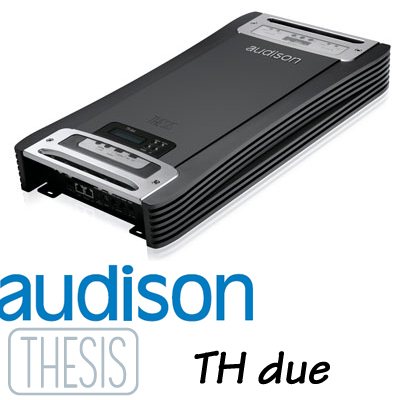 AUDISON オーディソン THESIS TH due300W×2ch 高級ステレオパワーアンプ