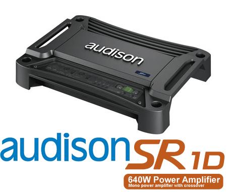 AUDISON オーディソン SR1D 定格出力460W×1chモノラル サブウーファーパワーアンプ