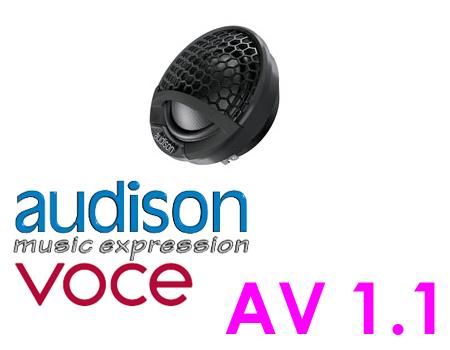 AUDISON オーディソン AV 1.128mmトゥイーター(1ペア)