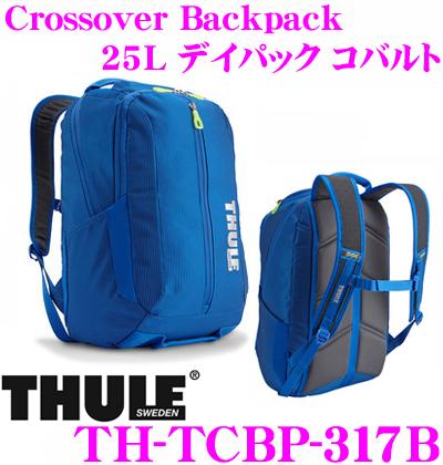 THULE TCBP-317B THULE Crossover Crossover バッグ】 Backpack 25L コバルト スーリー クロスオーバー バックパック デイパック【15インチMacBookPro/ノートPC保護スペース付大容量リュック バッグ】, 素晴らしい価格:225fe596 --- djcivil.org