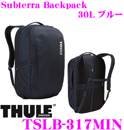 THULE TSLB-317MIN Subterra Backpack 30L ブルー スーリー サブテラ バックパック 【15インチMacBook/15.6インチPC保護スペース付リュック バッグ】