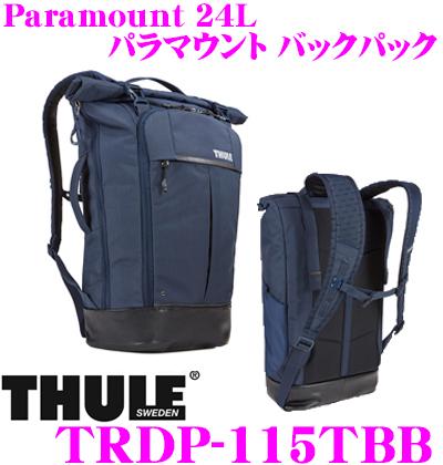 THULE スーリー TRDP-115TBB Paramount 24L パラマウント バックパック ネイビー 【15インチMacBookPro/ノートPC保護スペース付大容量リュック バッグ】