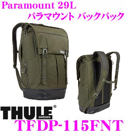 THULE スーリー TFDP-115FNT Paramount 29L パラマウント バックパック カーキ 【15インチMacBookPro/ノートPC保護スペース付大容量リュック バッグ】