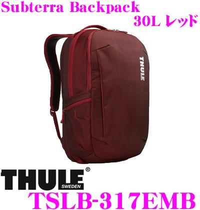<title>日本正規品 送料無料 THULE TSLB-317EMB Subterra Backpack メーカー在庫限り品 30L ダークグレー スーリー サブテラ バックパック 15インチMacBook 15.6インチPC保護スペース付リュック バッグ</title>