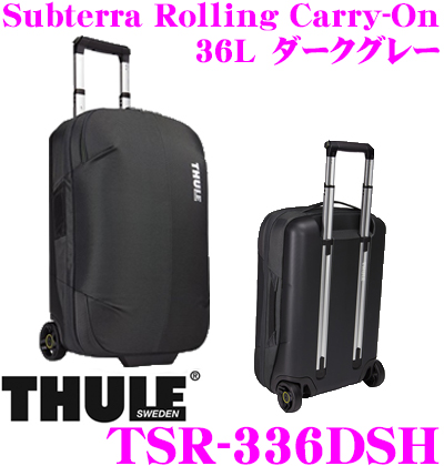 THULE スーリー TSR-336DSH Subterra Carry-On 36L サブテラ キャリーオン ダークグレー 機内持ち込み可 大容量キャリーケース