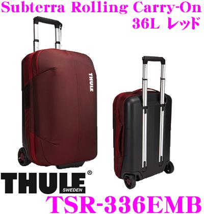 THULE スーリー TSR-336EMB Subterra Carry-On 36L サブテラ キャリーオン レッド 機内持ち込み可 大容量キャリーケース