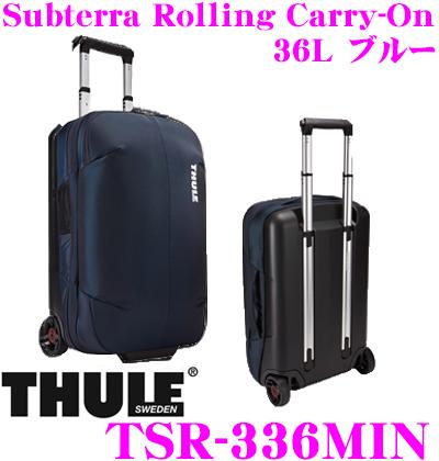 THULE スーリー TSR-336MIN Subterra Carry-On 36L サブテラ キャリーオン ブルー 機内持ち込み可 大容量キャリーケース
