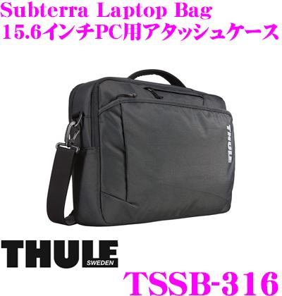 THULE TSSB-316 Subterra Laptop bag 15.6 スーリー サブテラ ラップトップバッグ ブラック15.6インチPC/10.1インチタブレット用アタッシュケース