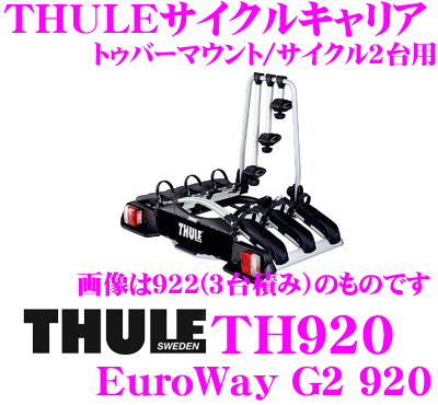 creer online shop thule euroway g2 920 euroway g2 th920 50 mm mounted cycle carrier. Black Bedroom Furniture Sets. Home Design Ideas