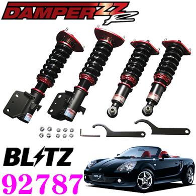 BLITZ ブリッツ DAMPER ZZ-R No:92787トヨタ ZZW30 MR-S(H11/10~)用車高調整式サスペンションキット