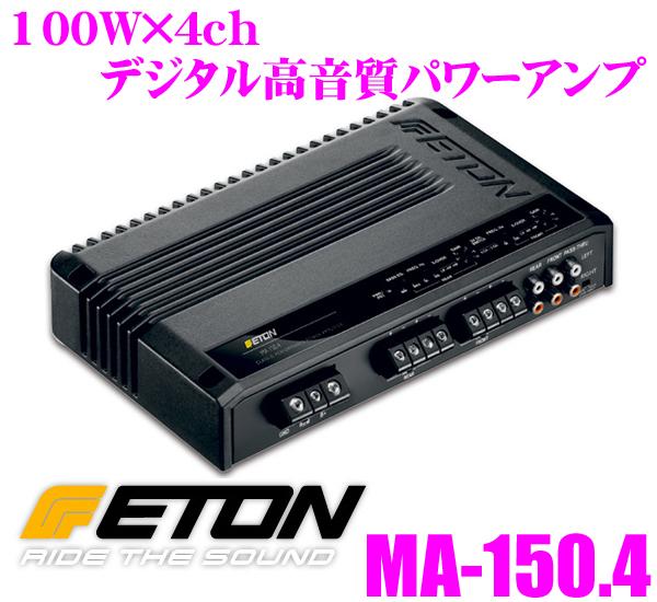 ETON イートン MA-150.4 100W×4chデジタル高音質パワーアンプ