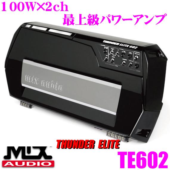 MTX Audio THUNDER ELITE TE602 100 W×2 ch파워업