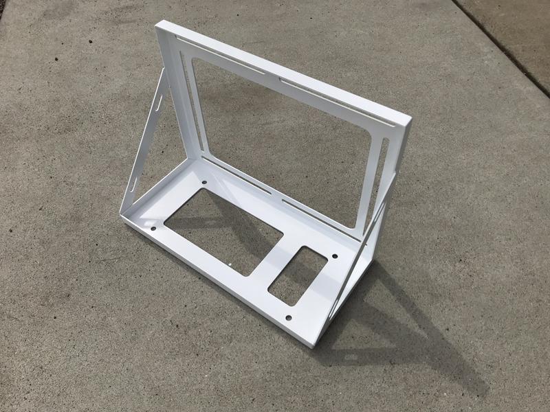 CLESEED CLECOOLV (クレクール5) 楽座クーラー用 土台金具クレクール5の室外機を車両に固定するための補助金具