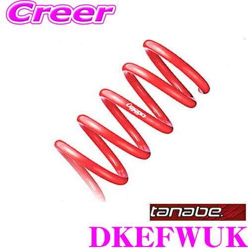 TANABE タナベ DKEFWUKDEVIDE UP210 スプリングマツダ DKEFW CX-3 MC後用アップ量:F 25~35mm R 25~35mm一台分/車検対応