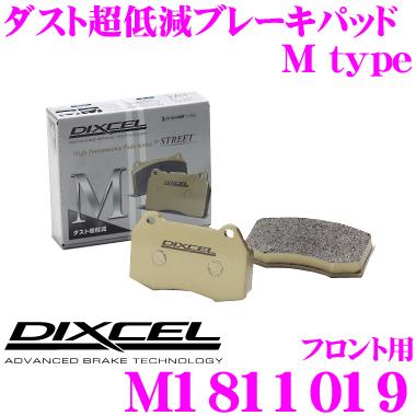 DIXCEL ディクセル M1811019Mtypeブレーキパッド(ストリート~ワインディング向け)【ブレーキダスト超低減! キャデラック SRX等】