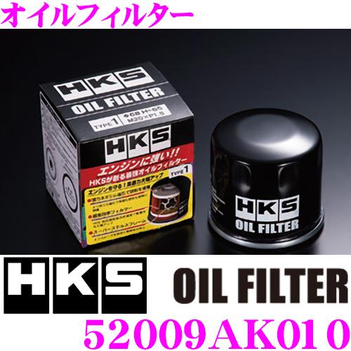 まとめ買い特価 HKS オイルフィルター オイルエレメント 52009-AK010 ダイハツ ミラ ムーヴ スズキ スイフト等 直営ストア センターボルトサイズ:UNF 3 純正品番:15601-97202 15601-B2030等 4-16