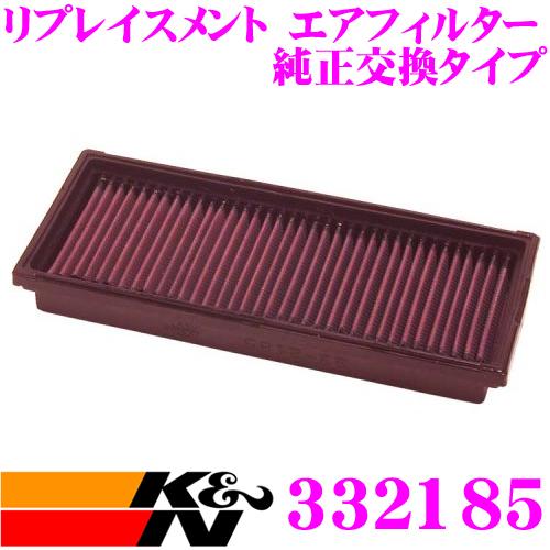K&N 純正交換フィルター 33-2185メルセデス・ベンツ SLK-CLASS 170 用リプレイスメント ビルトインエアフィルター 純正品番:1120940304対応