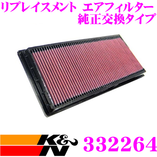 K&N 純正交換フィルター 33-2264ジャガー X-TYPE など 用リプレイスメント ビルトインエアフィルター純正品番:C2S11215/C2S51377対応